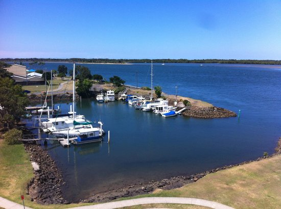 Ramada Hotel & Suites Ballina Byron : Water view from our room