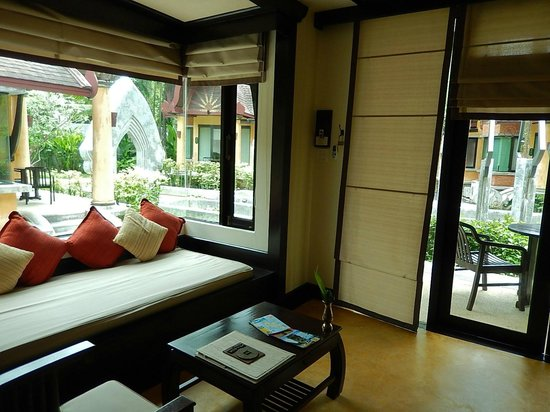 The Village Resort and Spa: Part of our living area - lovely outlook