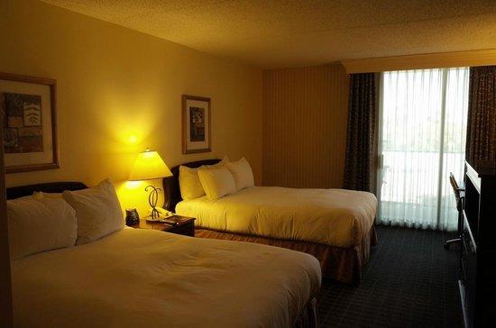 Hilton Pasadena: 室内