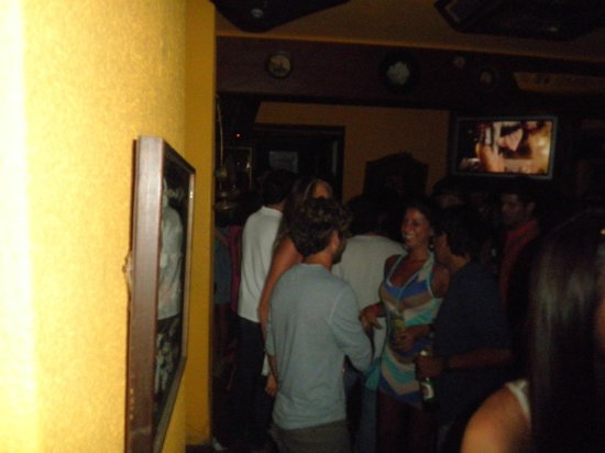 Moby Dick Pub: Noite agitada na moby