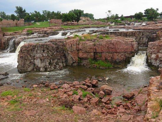 Falls Park: The Falls.