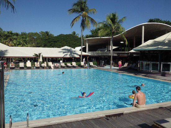 Club Med La Caravelle: piscine à 30 degré