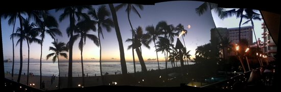 Hula Grill Waikiki: Panoramic view