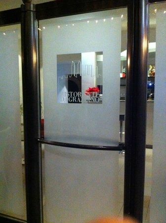 Hotel Ristorante da Graziano : ingresso ristorante