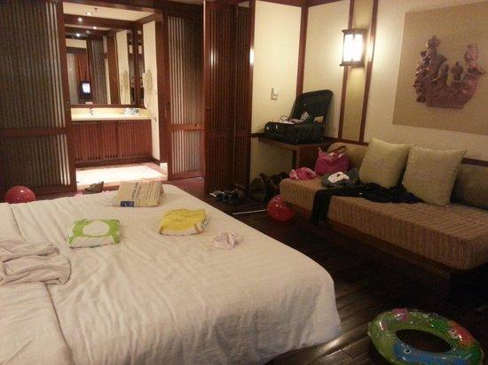 Hotel Novotel Bogor Golf Resort and Convention Center : our room