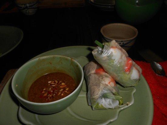Saigon Cooking Class: Fresh spring rolls