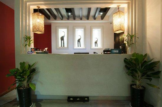 La Rose Boutique Hotel & Spa: Reception Area