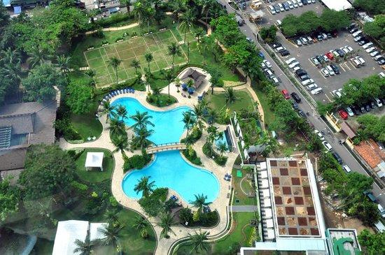 Shangri-La Hotel Jakarta: Room view 2