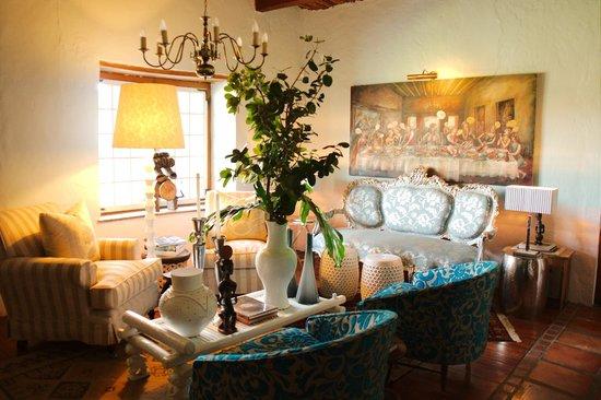 Augusta de Mist Country House: Wohnzimmer im Haupthaus