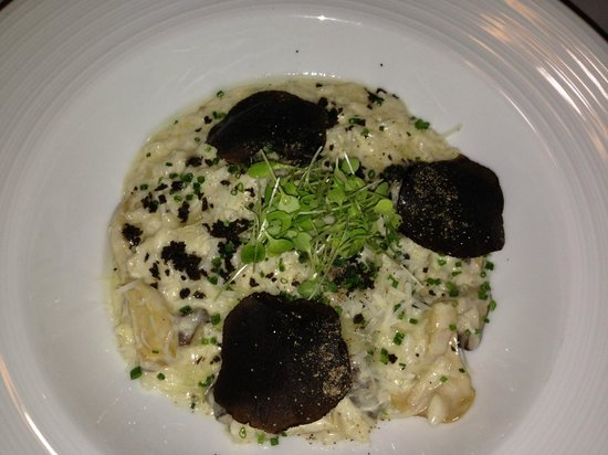 Whale's Belly Restaurant & Bar: risotto