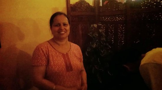 The Dhaba: The owner !