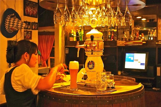 Bei Otto: German draught beer
