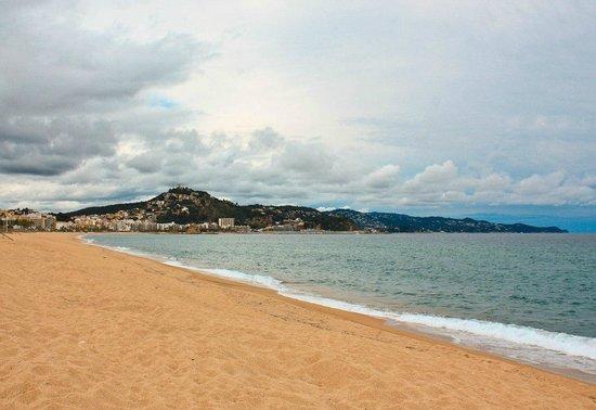 Hotel Blaumar: Пляж