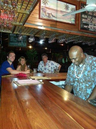 Club Fiji Resort: Late night with Cookie!!