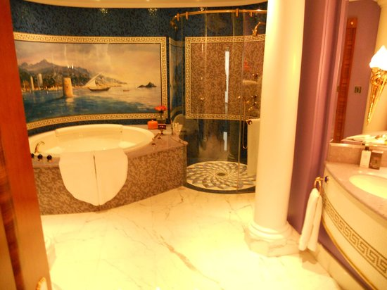 Burj Al Arab Jumeirah : Bathroom