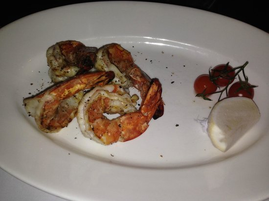 Fireplace Grill and Bar: shrimp