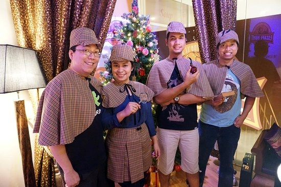 The Escape Hunt Experience Bangkok: my family