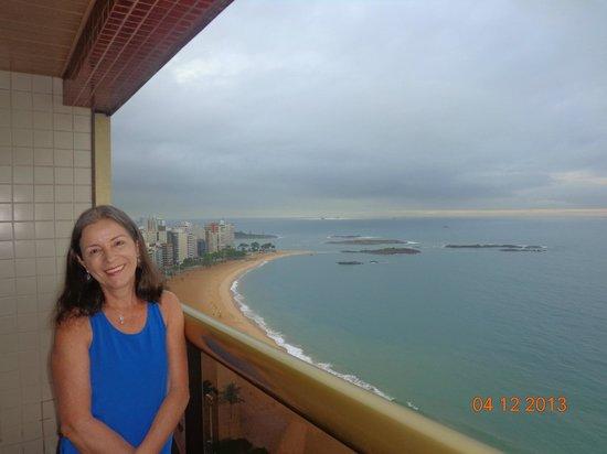 Quality Suites Vila Velha : Vista da sacada