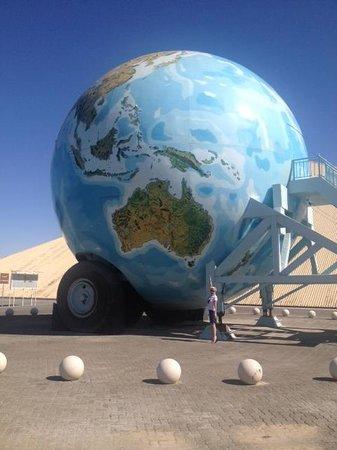 Emirates National Auto Museum: The Globe!