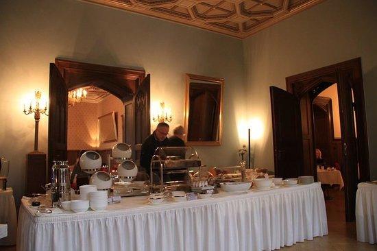 Schloss Eckberg: breakfast room