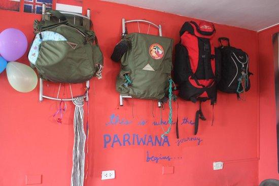Pariwana Hostel Lima : detalles de la decoracion