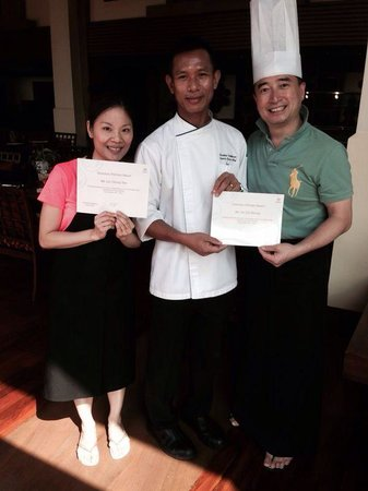 InterContinental Pattaya Resort: Cooking course in Sheraton Pattaya