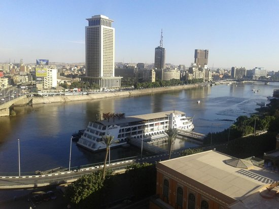 Cairo Marriott Hotel & Omar Khayyam Casino: view from the room