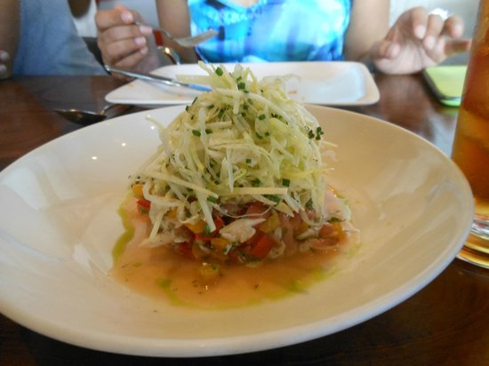 The Table : Crab and watermelon salad