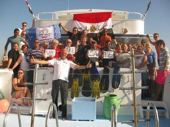 TGI Diving El Gouna: We are safe!