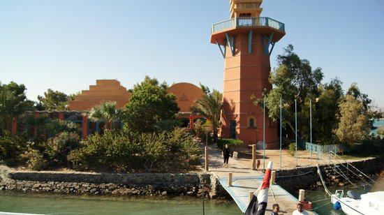 TGI Diving El Gouna: View from the boat