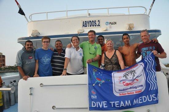 TGI Diving El Gouna: Diveteam Medusa