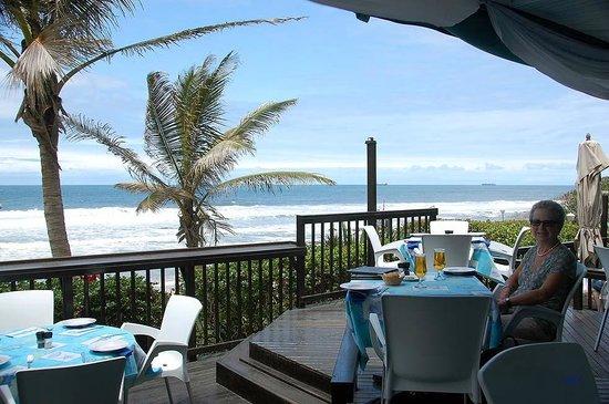Cabana Beach Resort: Reaturant Razzmatazz på Cabana Beach