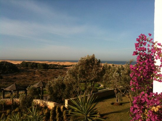 Robinson Club Agadir : Ausblick vom Balkon