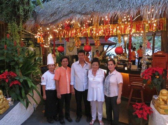 Bella Vista Restaurant: Menagement Villa Elisabeth Restaurant Bella Vista Kata Beach