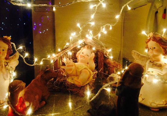 Embassy Hotel : Family own Presepe in Bulding