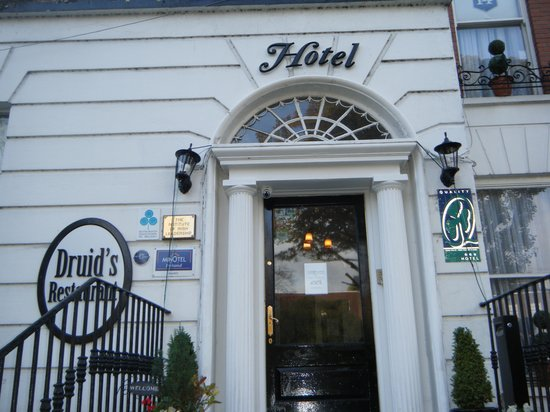 Lansdowne Hotel Ballsbridge: Hotel Entrance