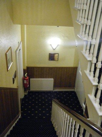 Lansdowne Hotel Ballsbridge: Staircase