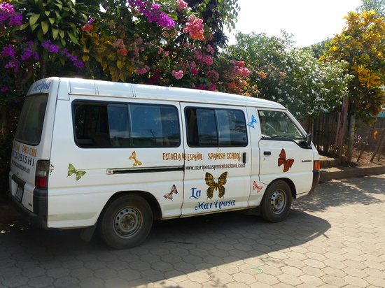 La Mariposa Spanish School and Eco Hotel: the La Mariposa bus
