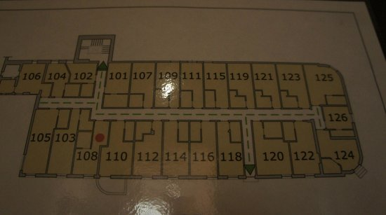 Infinity Hotel St. Peter: plan pokoi