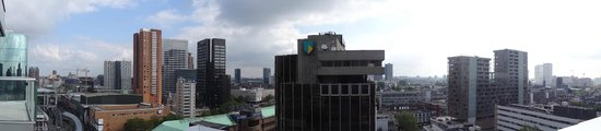 Urban Residences Rotterdam : Panorama from our room