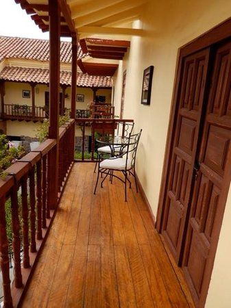 Casa Andina Premium Cusco : view from one of our private balconies to the other...