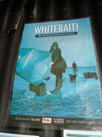 Mahitahi Lodge: Whit bait delicious
