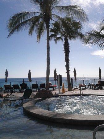 Villa del Arco Beach Resort & Spa Cabo San Lucas : Palm tree and quiet palce