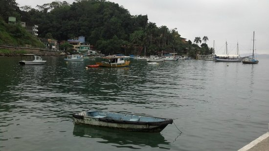 Pousada Jamanta: Vista para a baía