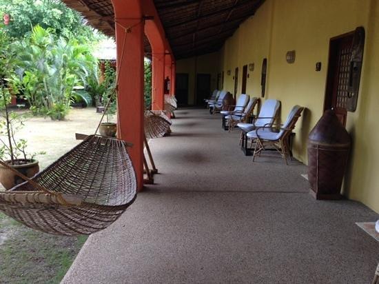 Hibiscus Garden Inn : Fresh Air just outside the rooms