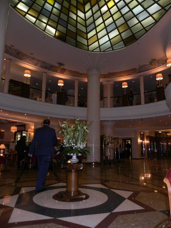 Moscow Marriott Royal Aurora Hotel : Холл