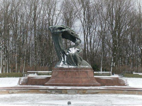 Parc Łazienki : Parco