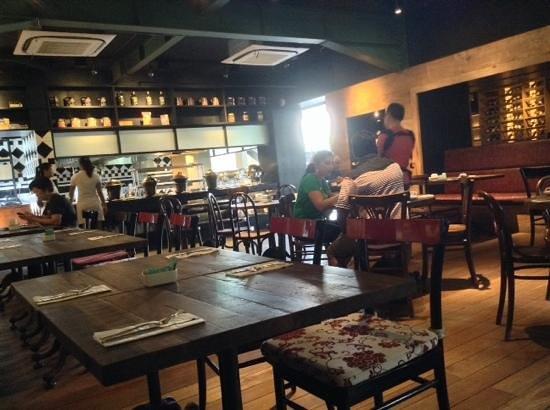 Fontana Hotel Bali: portabella restaurant