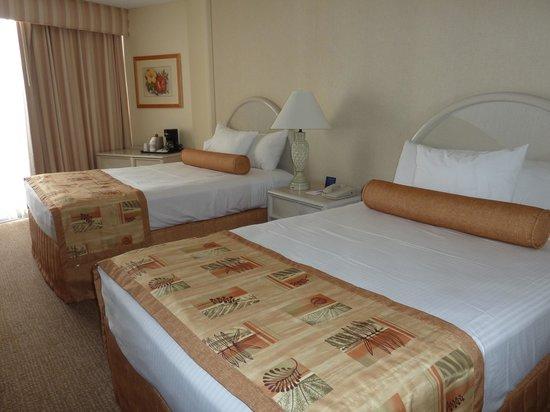 OHANA Waikiki East Hotel: ベッドは最高でした