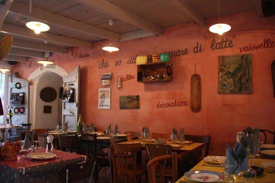 U Minellu: Im Restaurant